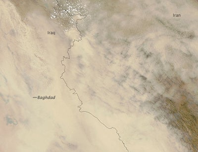 "Iraqi Dust Storms Seem Straight Out Of ""Dune"""