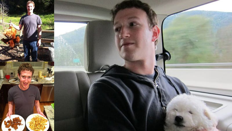Mark Zuckerberg Can't Protect His Own Facebook Photos
