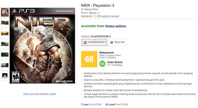 Amazon Adding Metacritic Scores Is Bad News For Everyone