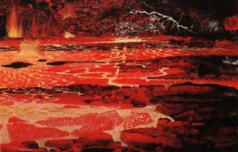 A vast magma ocean is bubbling beneath the Earth's mantle
