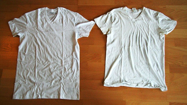 Fix a Shrunk Shirt with Warm Water and Hair Conditioner