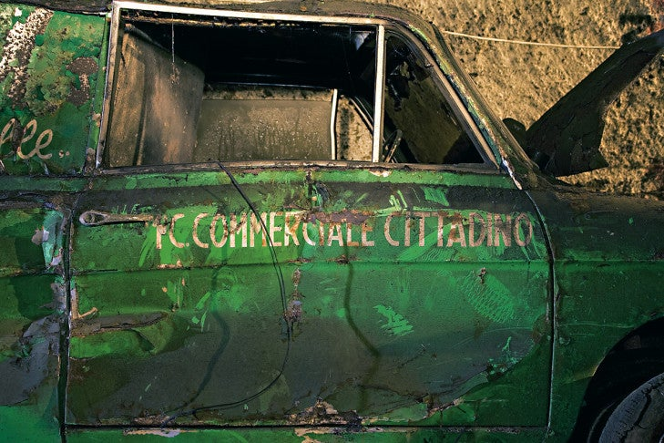 Naples' Forgotten Cars
