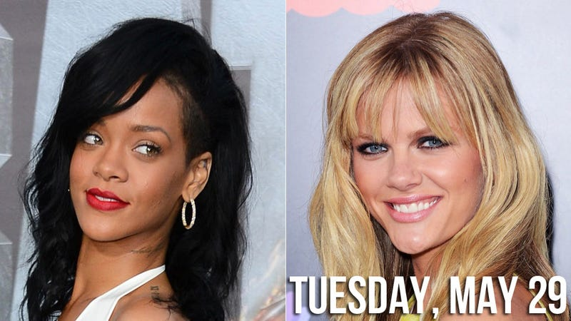 Rihanna and Brooklyn Decker Want to Frankenstein Their Bodies to Create a Sexy Monster