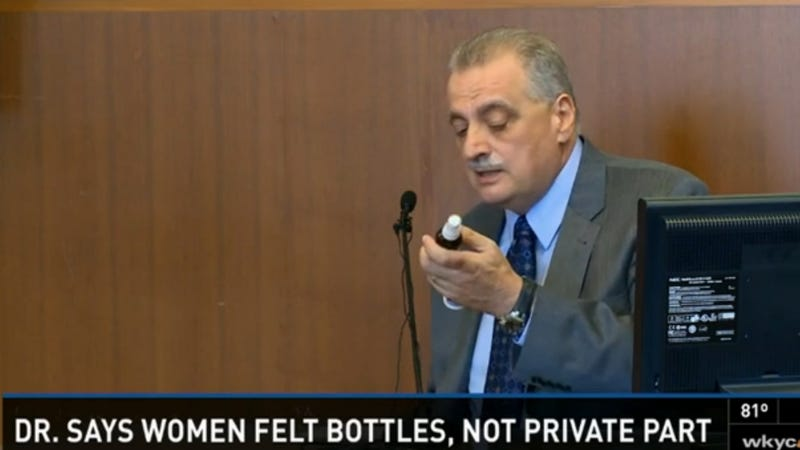 Doc Accused of Sexual Harassment: That Wasn't My Dick, It Was a Bottle
