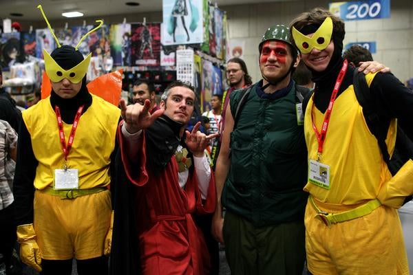 The best cosplay of Comic-Con 2011
