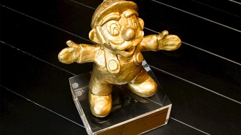 For $300,000, You Can Pretend You're a Nintendo World Champion