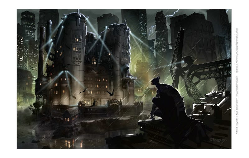 Harry Potter, Batman Will Kick Your Ass All Over This Concept Art