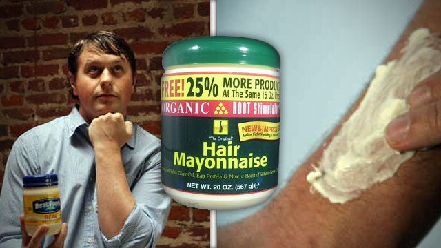 Soften Up Your Dry Hair and Skin with Mayonnaise