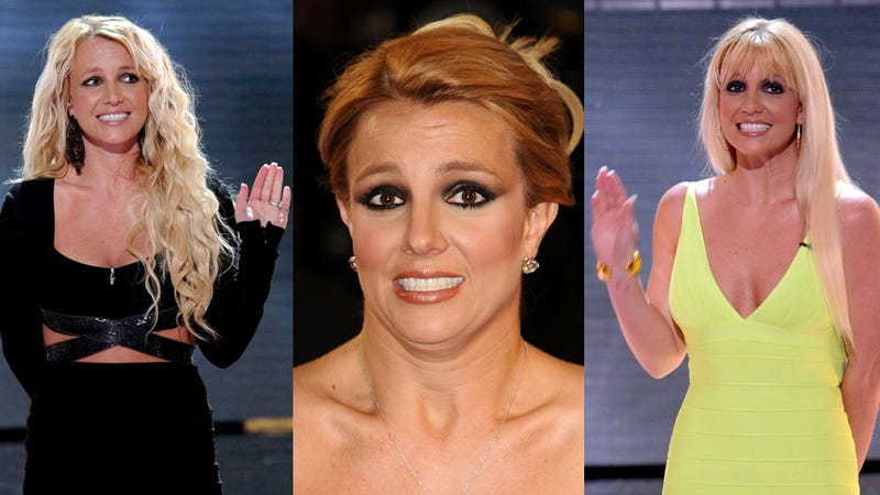 A Year of Britney Spears' Tortured Red Carpet Faces