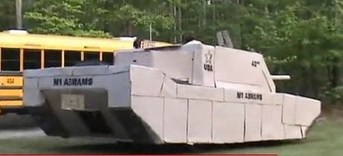 Gallery: Cardboard Pickup Tank