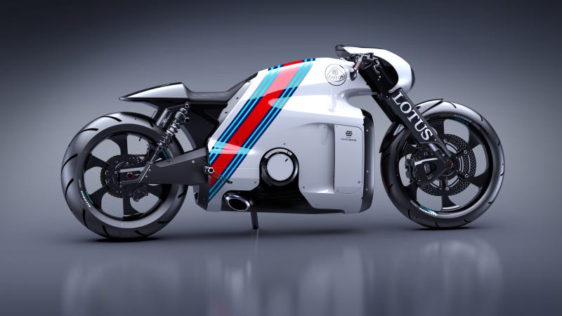 The Lotus C-01 Is A Stunner Superbike From The Man Behind Tron: Legacy