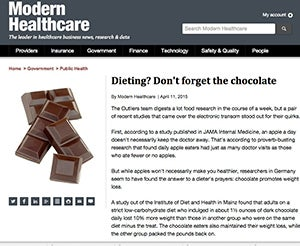 I Fooled Millions Into Thinking Chocolate Helps Weight Loss. Here's How.