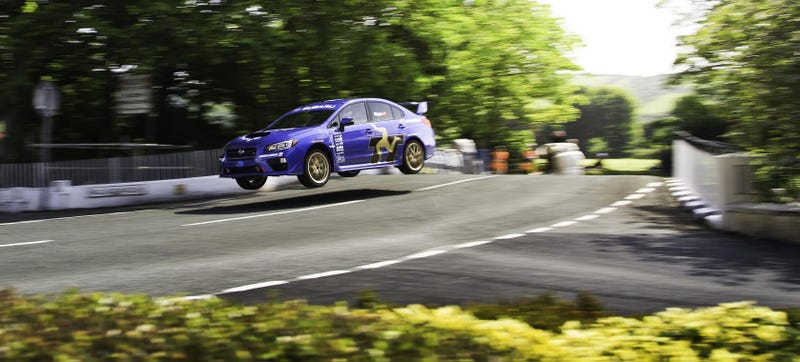 Subaru Broke The Isle Of Man TT Record, Again