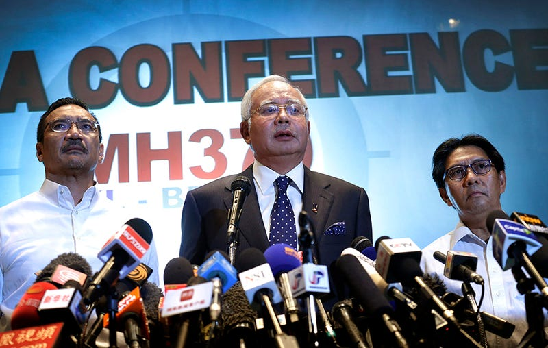 Malaysian Prime Minister: Missing Plane Was Deliberately Diverted