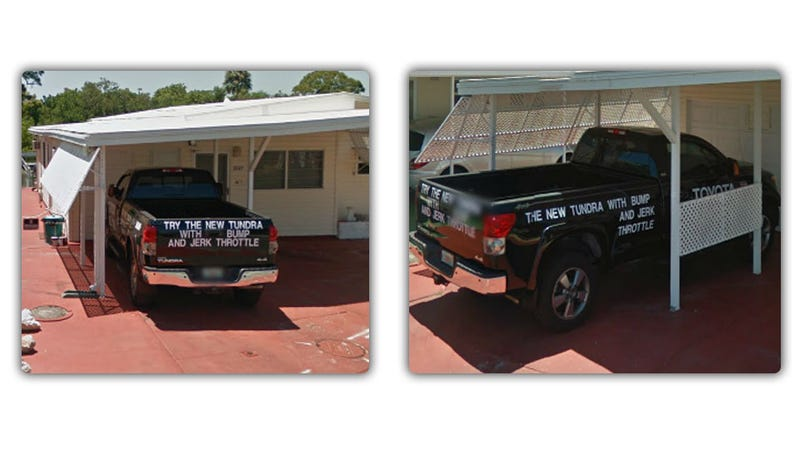 How An Angry Truck Owner Used Google And His House To Let Everyone Know 'Toyota Sucks'