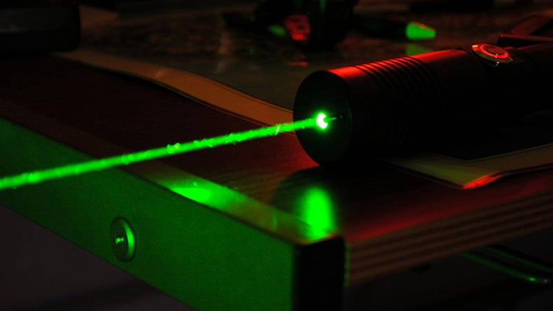Illegal Laser Pointers Are Everywhere, Including Your Drawer