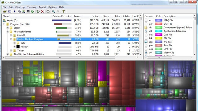 Drive Space Analyzer : Five best hard drive space analyzers