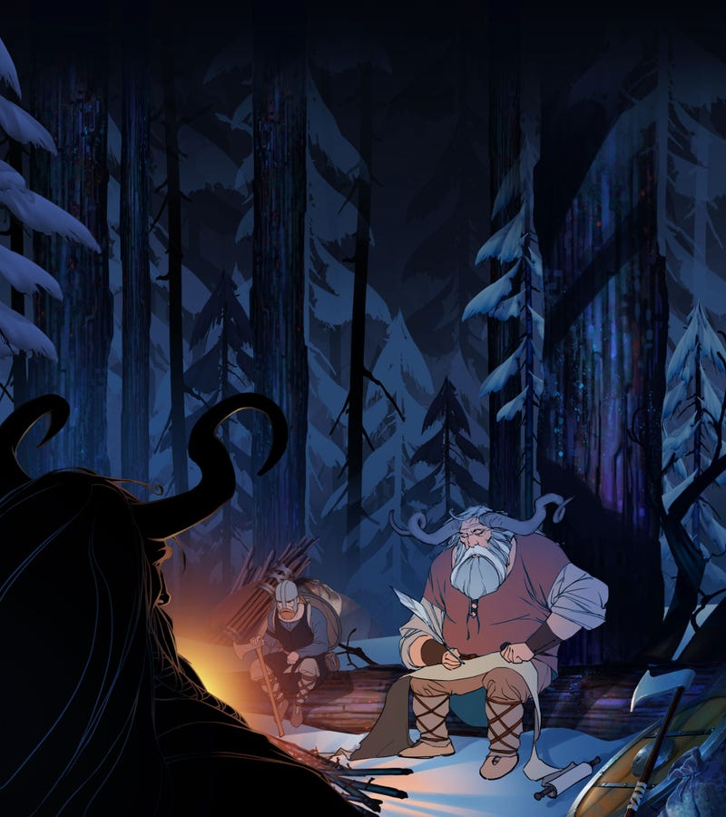 The Art Of The Banner Saga, One Of The Most Beautiful Video Games I've Ever Seen