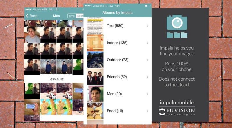 Impala Auto-sorts iOS Photos into Albums