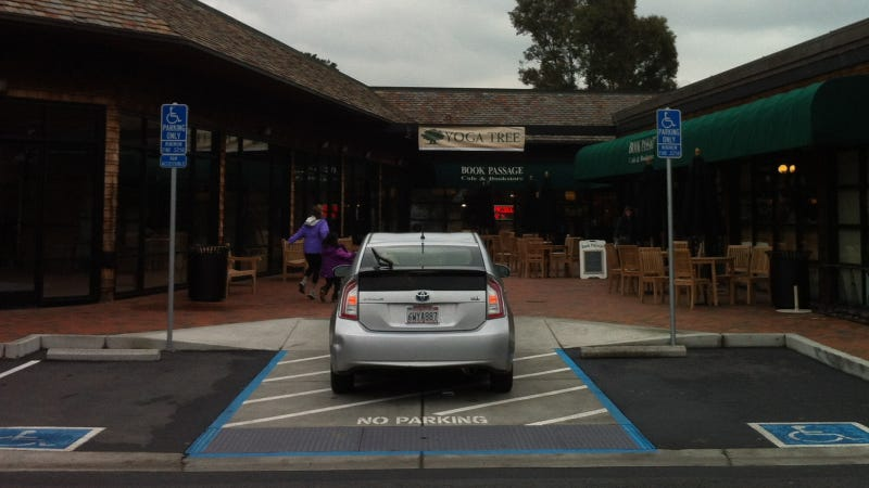 This Prius Executed A Stunning Display Of Parking Asshattery