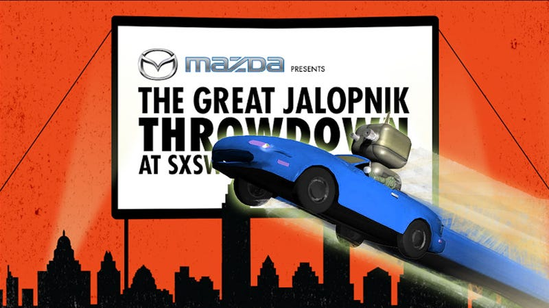 Remember, You Have To Come To Our SXSW Thing And Talk Cars And Drink
