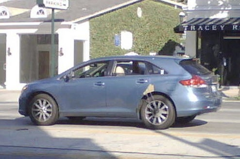 2009 Toyota Venza Spotted Cruising West Hollywood