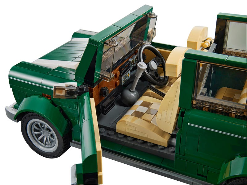 The new Lego Mini Cooper is another must buy set
