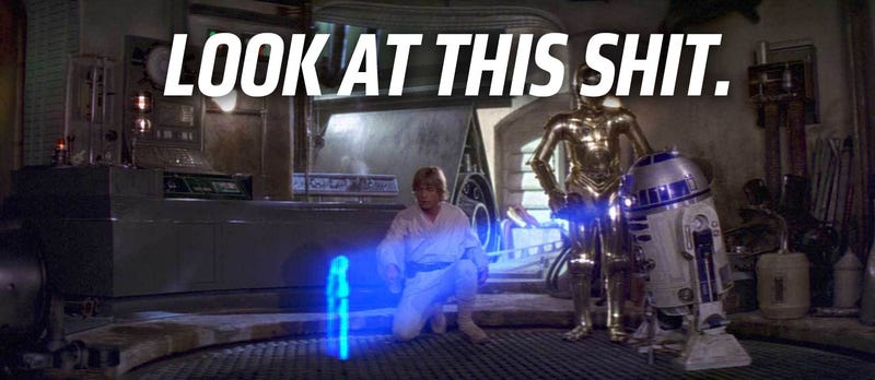 Why Are All The Holograms In The Star Wars Universe So Crappy?