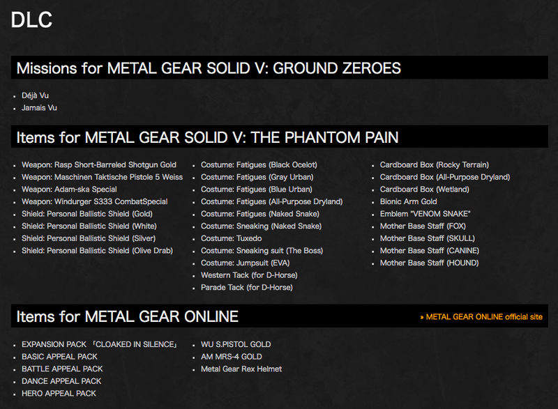 Metal Gear Solid V Definitive Edition Sneaks Out This Fall
