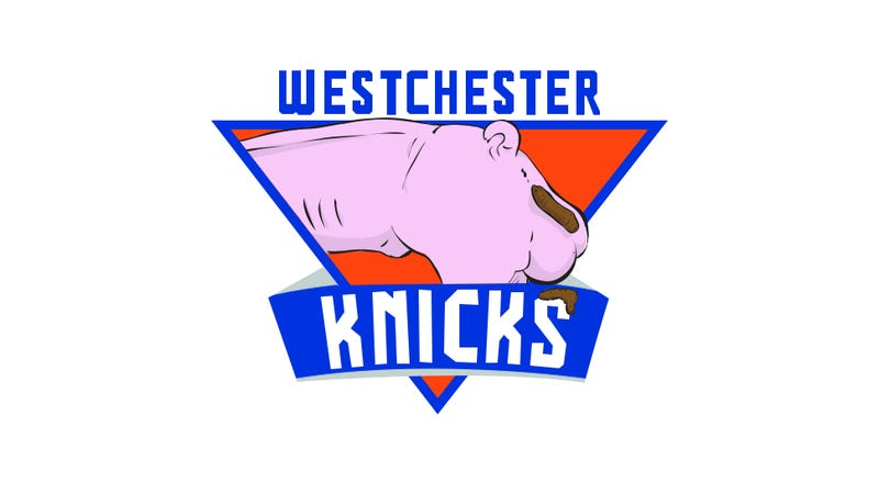 We Made Some Improvements To The Knicks' New D-League Team's Logo
