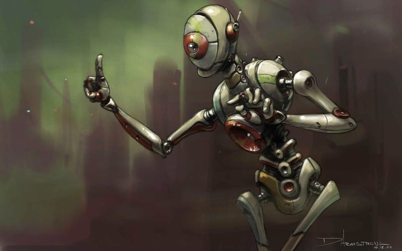 Bring the Robot Uprising to Your Desktop With These Amazing Wallpapers