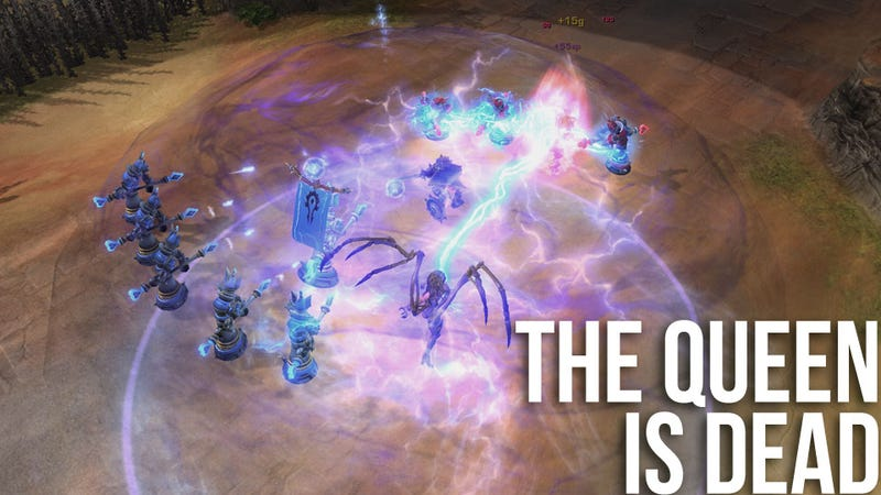 The Queen of Blades is No Match for the New and Improved Blizzard DOTA