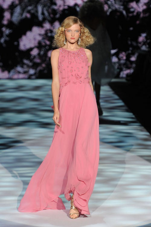 Badgley Mischka's Collection Is Perfect...If You're A Society Bride Or YSL Muse, That Is.
