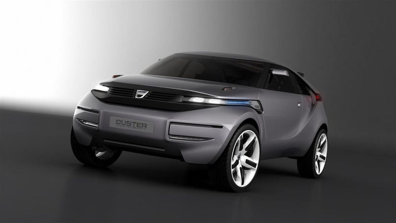 Dacia Duster: Every Concept Buzzword At Once