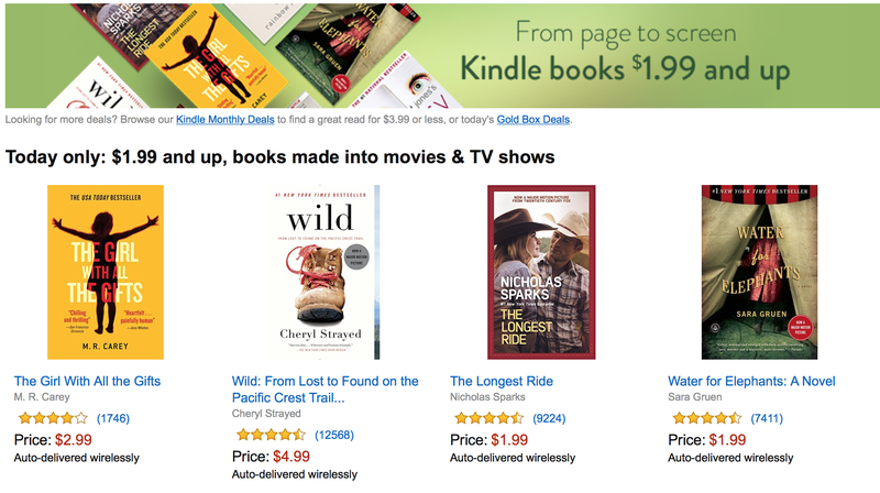 Sunday's Best Deals: Amazon Jacket Sale, Kindle Ebooks, Massage Ball, and More