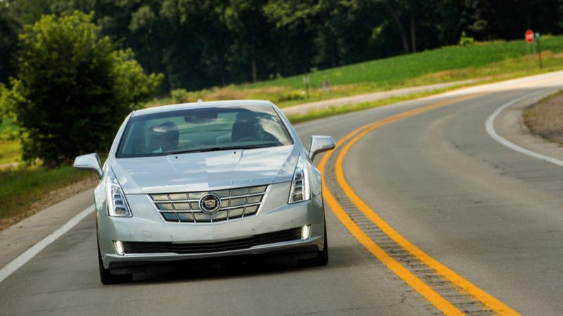 The Cadillac ELR Will Cost $75,995, I.E. As Much As A Tesla Model S