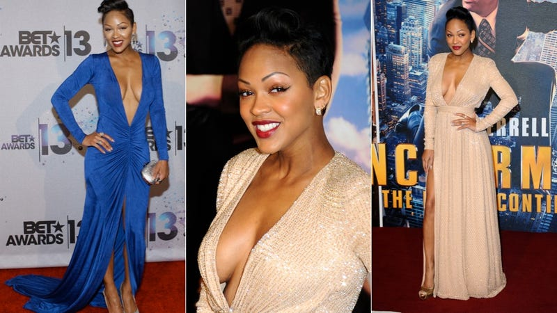 Meagan Good: You'll Take This Cleavage and You'll Praise the Lord For It!