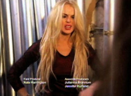 Lindsay Lohan's Unprofessionalism Plays Out On Reality TV