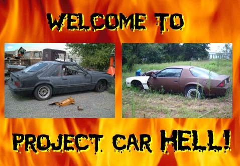 Project Car Hell: Camaro or Mustang?
