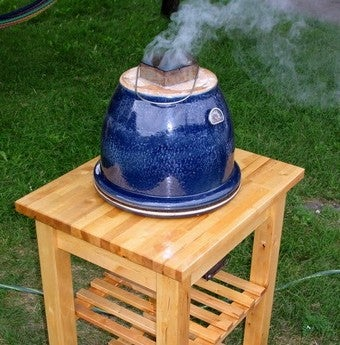 Build The Cadillac of DIY Flower Pot Smokers to BBQ in Style