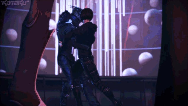 The Sex, Booze and Hard Partying of Mass Effect