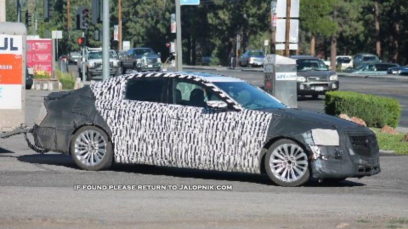 Cadillac Spy Photos