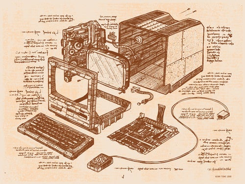 The Macintosh as Designed By Leonardo da Vinci