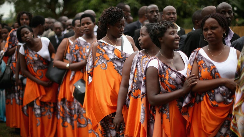 Rwandans Observe 20th Anniversary of the Start of the Rwandan Genocide