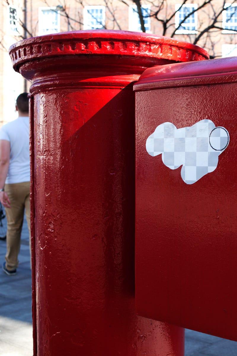 "Clever Photoshop Street Art is ""Erasing"" London"