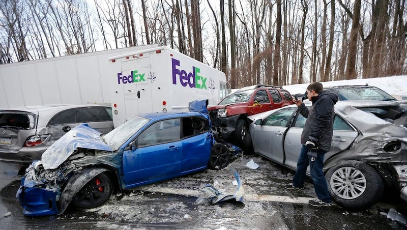 Hundred-Car Pileup Shuts Down Pennsylvania Turnpike, Injures 30
