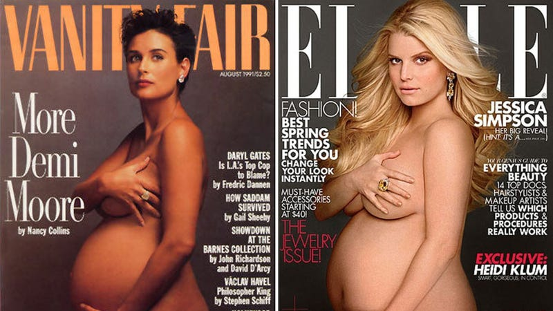 Jessica Simpson Is Demi Moore on this Month's Cover of Elle