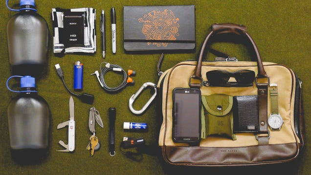 The Fully Loaded Briefcase