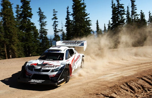 Monster Tajima Tweets His Way Up Pikes Peak