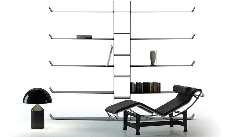 Carbon Fiber Bookshelves Are Novel Objects of Lust